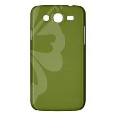 Hibiscus Sakura Woodbine Green Samsung Galaxy Mega 5.8 I9152 Hardshell Case