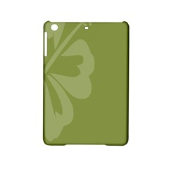Hibiscus Sakura Woodbine Green iPad Mini 2 Hardshell Cases