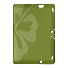 Hibiscus Sakura Woodbine Green Kindle Fire HDX 8.9  Hardshell Case