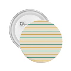 Horizontal Line Yellow Blue Orange 2.25  Buttons