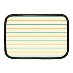 Horizontal Line Yellow Blue Orange Netbook Case (Medium)