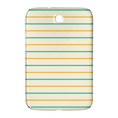 Horizontal Line Yellow Blue Orange Samsung Galaxy Note 8.0 N5100 Hardshell Case