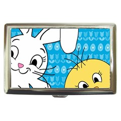 Easter bunny and chick  Cigarette Money Cases