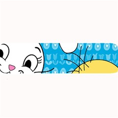 Easter bunny and chick  Large Bar Mats