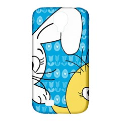 Easter bunny and chick  Samsung Galaxy S4 Classic Hardshell Case (PC+Silicone)