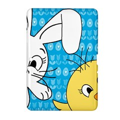 Easter bunny and chick  Samsung Galaxy Tab 2 (10.1 ) P5100 Hardshell Case