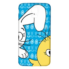 Easter bunny and chick  Samsung Galaxy S5 Back Case (White)