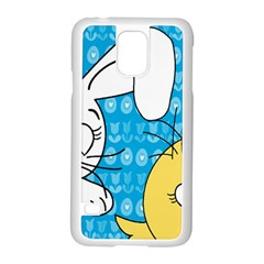 Easter bunny and chick  Samsung Galaxy S5 Case (White)