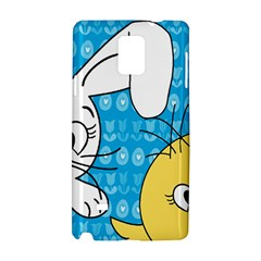 Easter bunny and chick  Samsung Galaxy Note 4 Hardshell Case
