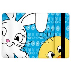 Easter bunny and chick  iPad Air 2 Flip