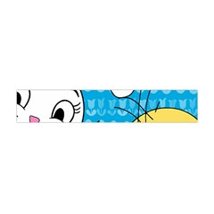 Easter bunny and chick  Flano Scarf (Mini)