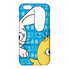 Easter bunny and chick  iPhone 6/6S TPU Case