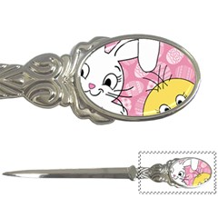 Easter bunny and chick  Letter Openers