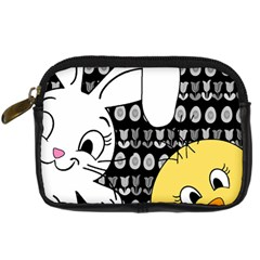 Easter bunny and chick  Digital Camera Cases
