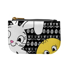 Easter bunny and chick  Mini Coin Purses