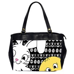 Easter bunny and chick  Office Handbags (2 Sides)