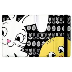 Easter bunny and chick  Apple iPad 2 Flip Case