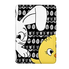 Easter Bunny And Chick  Samsung Galaxy Tab 2 (10 1 ) P5100 Hardshell Case