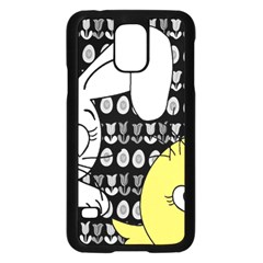 Easter bunny and chick  Samsung Galaxy S5 Case (Black)