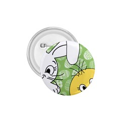 Easter bunny and chick  1.75  Buttons