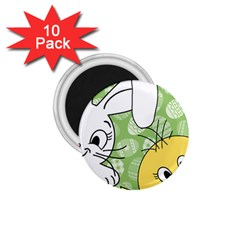 Easter bunny and chick  1.75  Magnets (10 pack)