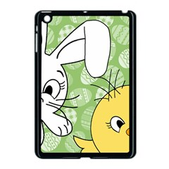 Easter bunny and chick  Apple iPad Mini Case (Black)