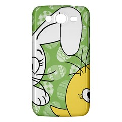 Easter bunny and chick  Samsung Galaxy Mega 5.8 I9152 Hardshell Case