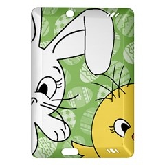 Easter bunny and chick  Amazon Kindle Fire HD (2013) Hardshell Case