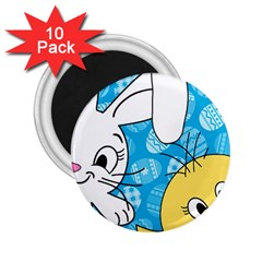 Easter bunny and chick  2.25  Magnets (10 pack)