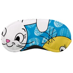 Easter bunny and chick  Sleeping Masks