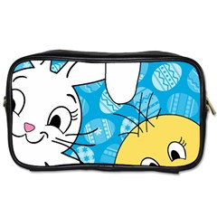 Easter bunny and chick  Toiletries Bags