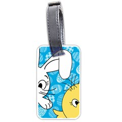 Easter bunny and chick  Luggage Tags (One Side)