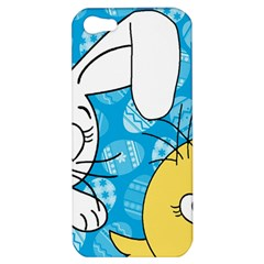 Easter bunny and chick  Apple iPhone 5 Hardshell Case