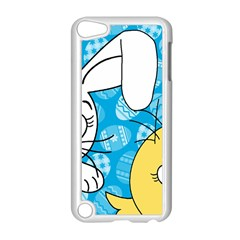 Easter bunny and chick  Apple iPod Touch 5 Case (White)