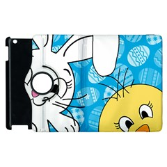 Easter bunny and chick  Apple iPad 2 Flip 360 Case