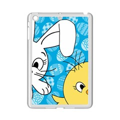 Easter bunny and chick  iPad Mini 2 Enamel Coated Cases