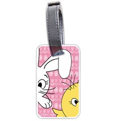 Easter bunny and chick  Luggage Tags (Two Sides)