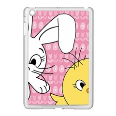 Easter bunny and chick  Apple iPad Mini Case (White)