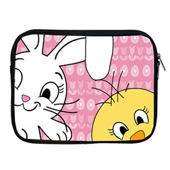 Easter bunny and chick  Apple iPad 2/3/4 Zipper Cases