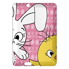 Easter bunny and chick  Kindle Fire HDX Hardshell Case