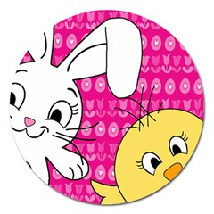 Easter Magnet 5  (Round)