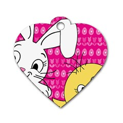 Easter Dog Tag Heart (Two Sides)