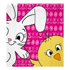 Easter Shower Curtain 66  x 72  (Large)