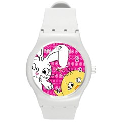 Easter Round Plastic Sport Watch (M)
