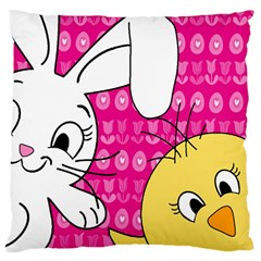 Easter Large Cushion Case (One Side)