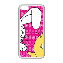 Easter Apple iPhone 5C Seamless Case (White)