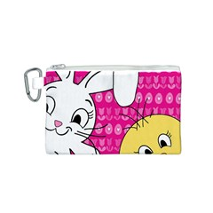 Easter Canvas Cosmetic Bag (S)