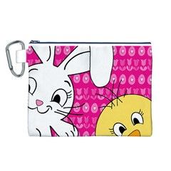 Easter Canvas Cosmetic Bag (L)