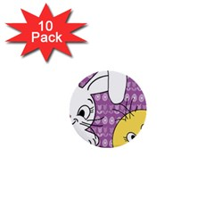 Easter 1  Mini Buttons (10 pack)