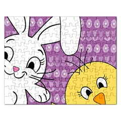Easter Rectangular Jigsaw Puzzl